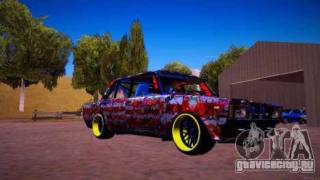 ВАЗ 2105 Drift для GTA San Andreas вид слева