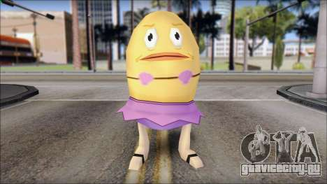 Biklad from Sponge Bob для GTA San Andreas