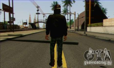 Kenny from The Walking Dead v3 для GTA San Andreas второй скриншот