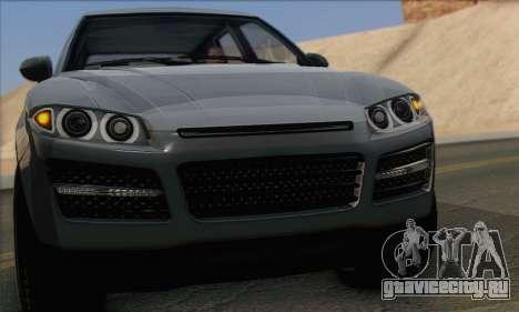 Obey Rocoto 1.0 (IVF) для GTA San Andreas вид сзади слева