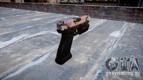 Пистолет Glock 20 kawaii для GTA 4 второй скриншот