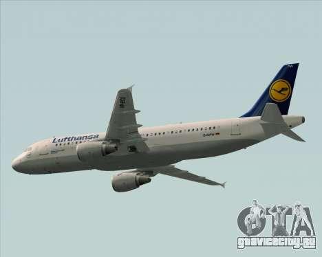 Airbus A320-211 Lufthansa для GTA San Andreas