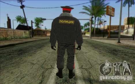 Полиция России Скин 1 для GTA San Andreas второй скриншот