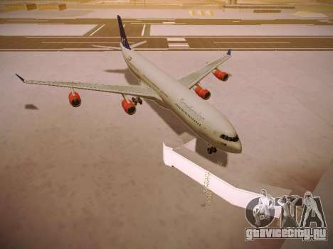 Airbus A340-300 Scandinavian Airlines для GTA San Andreas