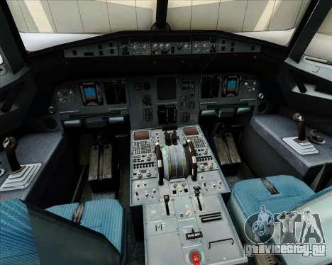 Airbus A320-200 Air Australia для GTA San Andreas салон