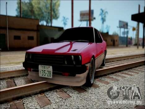 Nissan Skyline GT-R R30 для GTA San Andreas вид сзади слева