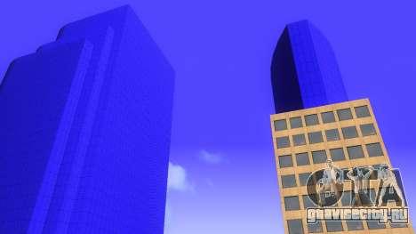 HD текстуры четырех небоcкребов в Лос Сантос для GTA San Andreas шестой скриншот