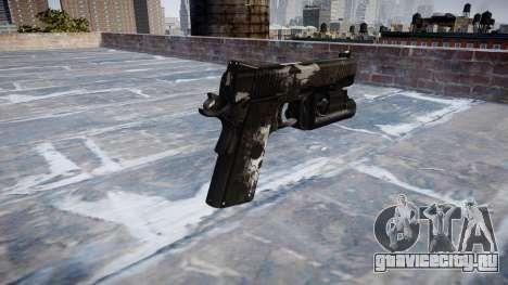 Пистолет Kimber 1911 Ghosts для GTA 4 второй скриншот