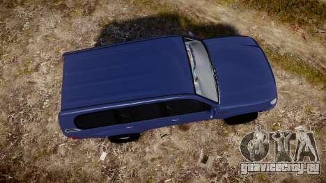 Toyota Land Cruiser для GTA 4 вид справа