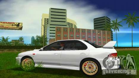 Subaru Impreza WRX STI GC8 Sedan Type 3 для GTA Vice City вид сзади