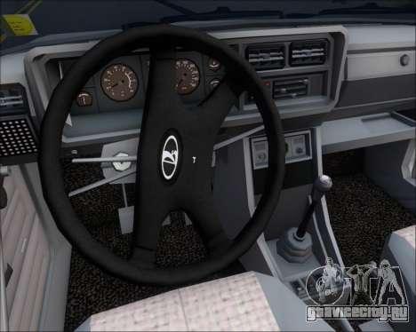 LADA 2107 для GTA San Andreas двигатель