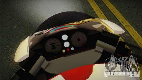 Bati RR 801 Redwood для GTA San Andreas вид сзади слева