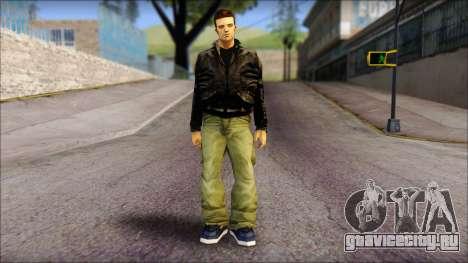 GTA 3 Claude Ped для GTA San Andreas