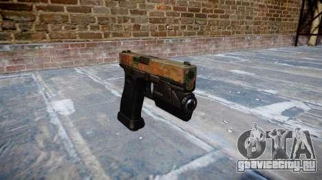 Пистолет Glock 20 jungle для GTA 4