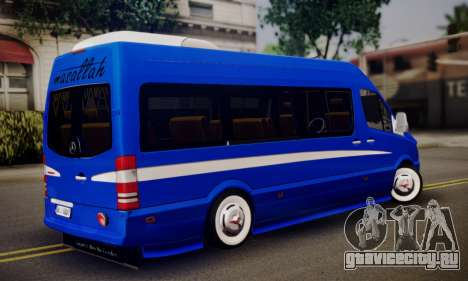 Mercedes-Benz Sprinter Dolmus v2 для GTA San Andreas вид слева
