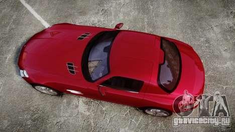 Mercedes-Benz SLS AMG [EPM] для GTA 4 вид справа