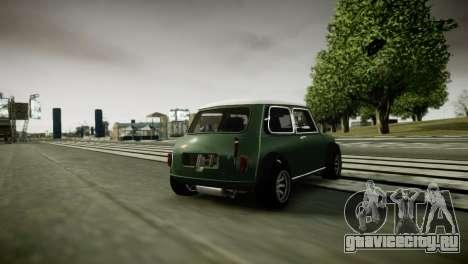 Mini Cooper RWD для GTA 4 вид справа