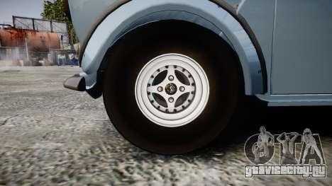 Mini Miglia [Updated] для GTA 4 вид сзади