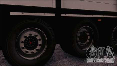 Krone SPD27 Systra Logistik для GTA San Andreas вид сзади слева