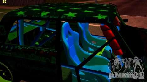 ВАЗ 2105 Drift для GTA San Andreas вид сверху