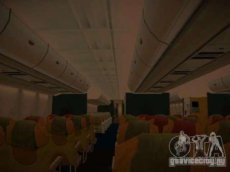 Airbus A380-800 Lufthansa для GTA San Andreas колёса