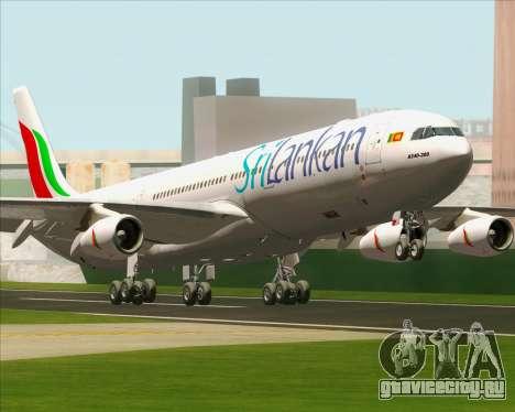 Airbus A340-313 SriLankan Airlines для GTA San Andreas