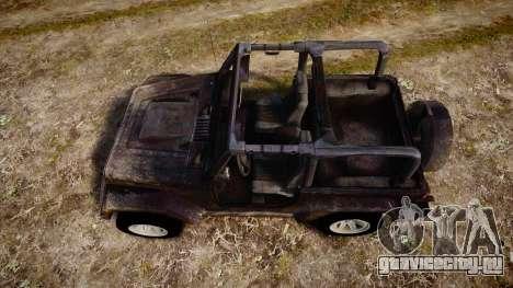 Jeep Wrangler Unlimited Rubicon для GTA 4 вид справа