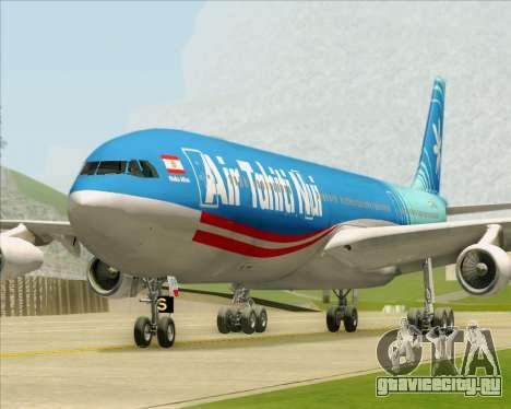 Airbus A340-313 Air Tahiti Nui для GTA San Andreas