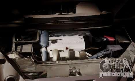 Peugeot RCZ для GTA San Andreas вид изнутри