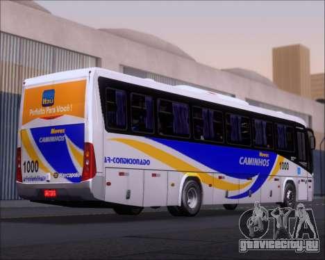 Marcopolo Ideale 770 - Volksbus 17-230 EOD для GTA San Andreas вид сзади