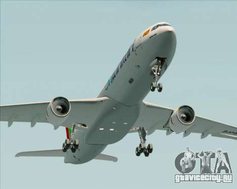 Airbus A330-300 SriLankan Airlines для GTA San Andreas вид сбоку