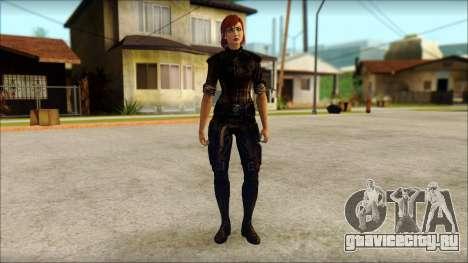 Mass Effect Anna Skin v9 для GTA San Andreas