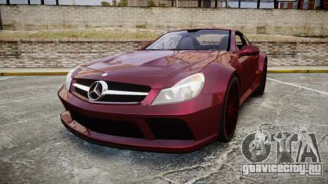 Mercedes-Benz SL 65 AMG Black Series для GTA 4