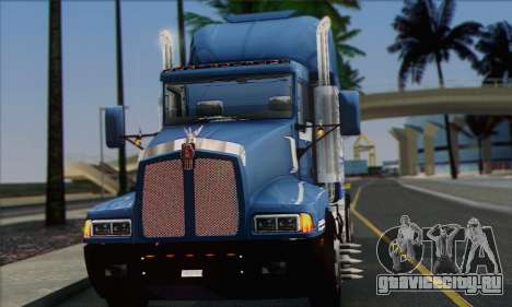 Kenworth T600 для GTA San Andreas вид справа