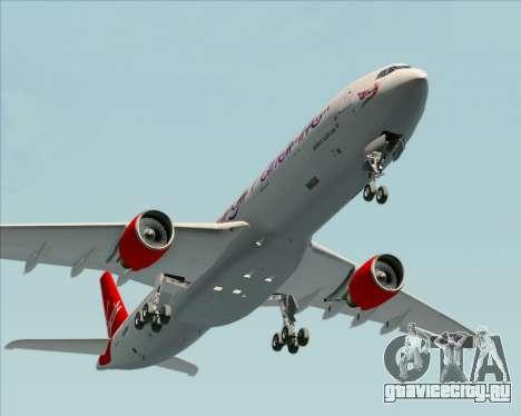 Airbus A330-300 Virgin Atlantic Airways для GTA San Andreas вид сбоку
