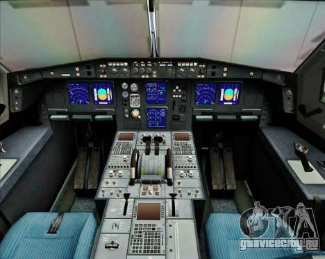Airbus A340-313 China Airlines для GTA San Andreas салон