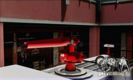 SAFD BRUTE Firetruck для GTA San Andreas вид сзади слева