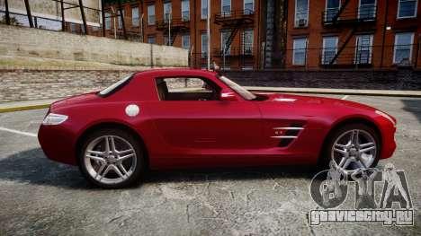 Mercedes-Benz SLS AMG [EPM] для GTA 4 вид слева