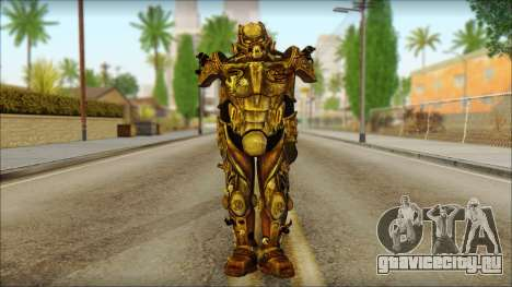 Enclave Tesla Soldier from Fallout 3 для GTA San Andreas