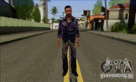 Lee from Walking Dead для GTA San Andreas