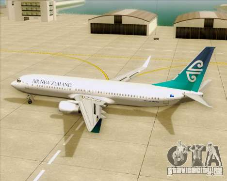 Boeing 737-800 Air New Zealand для GTA San Andreas салон