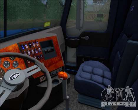 Mack Pinnacle 2006 для GTA San Andreas вид снизу