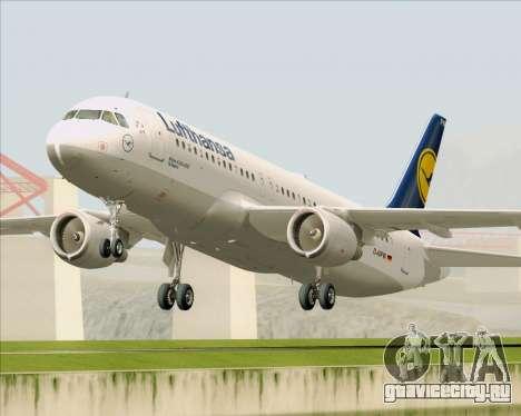 Airbus A320-211 Lufthansa для GTA San Andreas вид слева