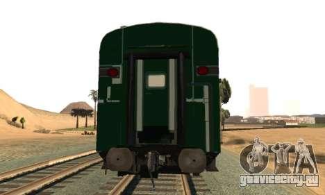 Pakistan Railways Train для GTA San Andreas вид справа