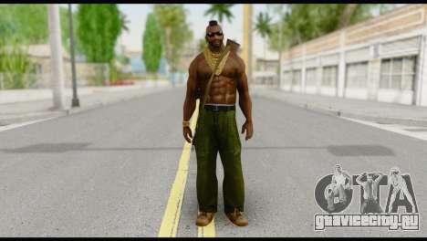 MR T Skin v7 для GTA San Andreas