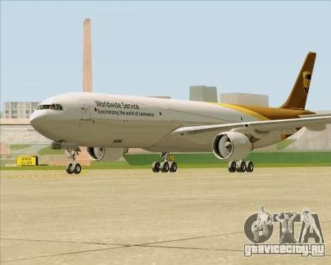 Airbus A330-300P2F UPS Airlines для GTA San Andreas вид справа