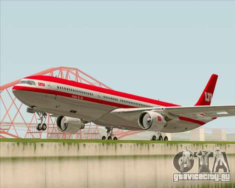 Airbus A330-300 LTU International для GTA San Andreas вид слева