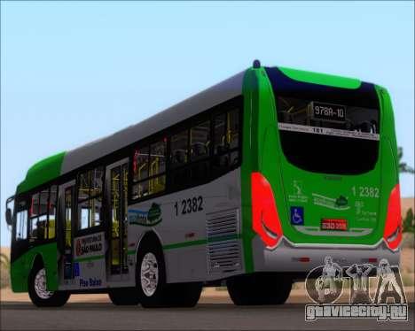 Caio Induscar Millennium BRT Viacao Gato Preto для GTA San Andreas колёса