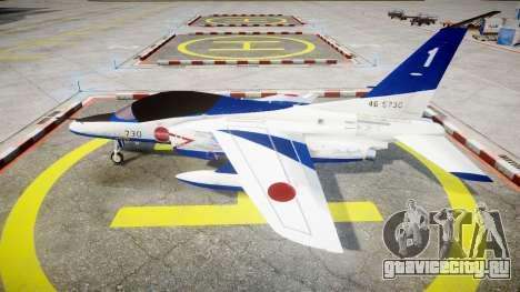 Kawasaki T-4 для GTA 4 вид слева