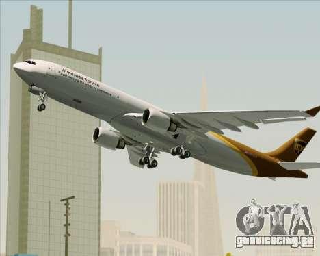 Airbus A330-300P2F UPS Airlines для GTA San Andreas